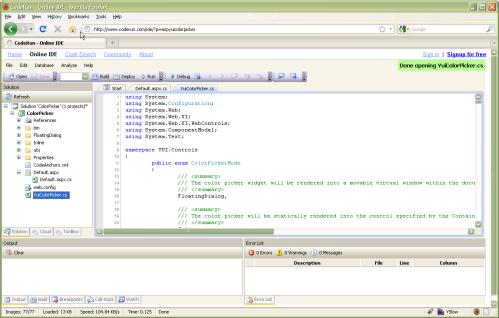 coderun.com IDE